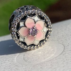 Pandora Magnolia Flower Bloom Charm